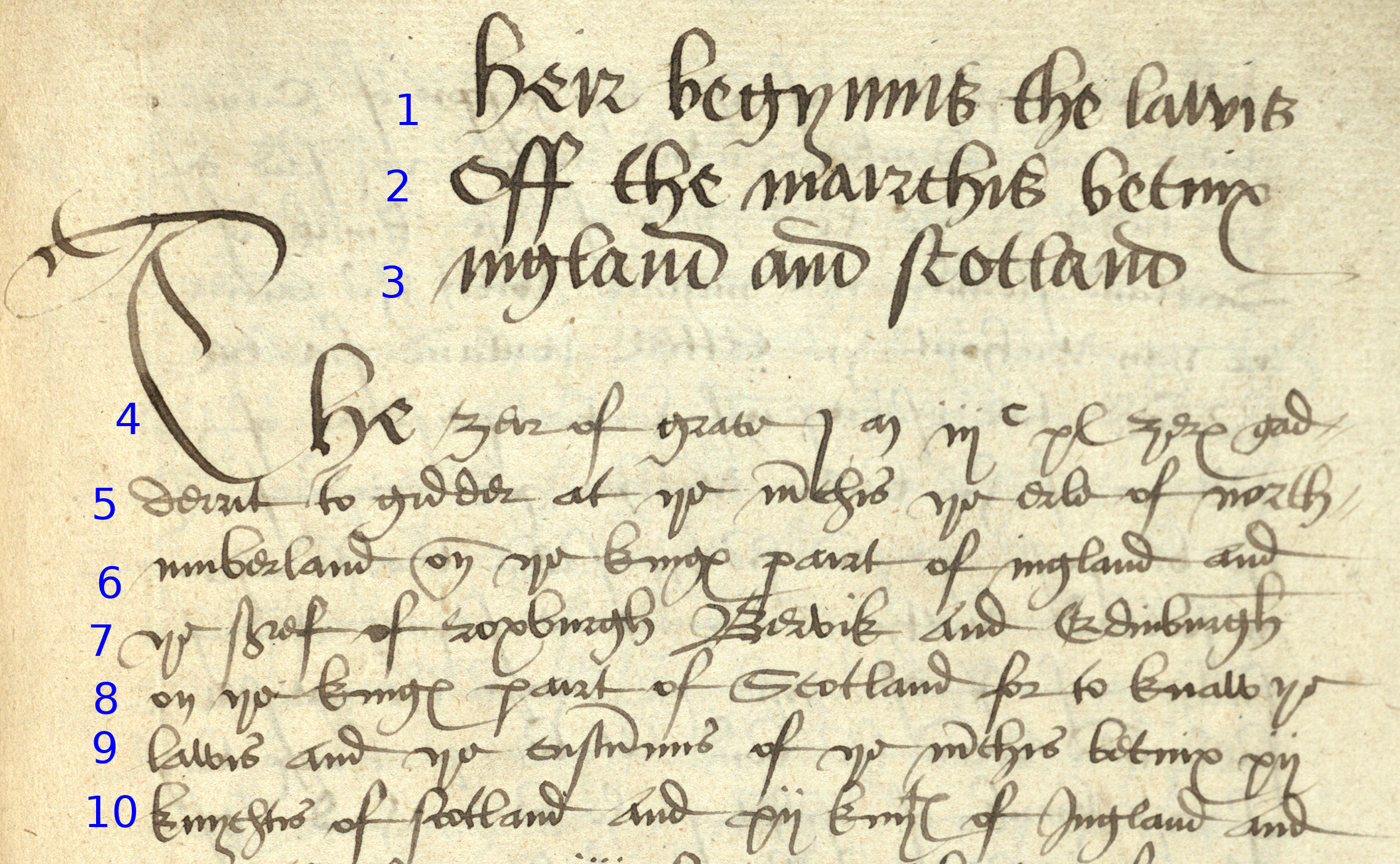 Week 5 sixteenth century secretary hand read me for english symbols menu in word or simply copy and paste it into your transcription notice the lack of punctuation and use of scharfes s on line 7 for ser buycottarizona Images