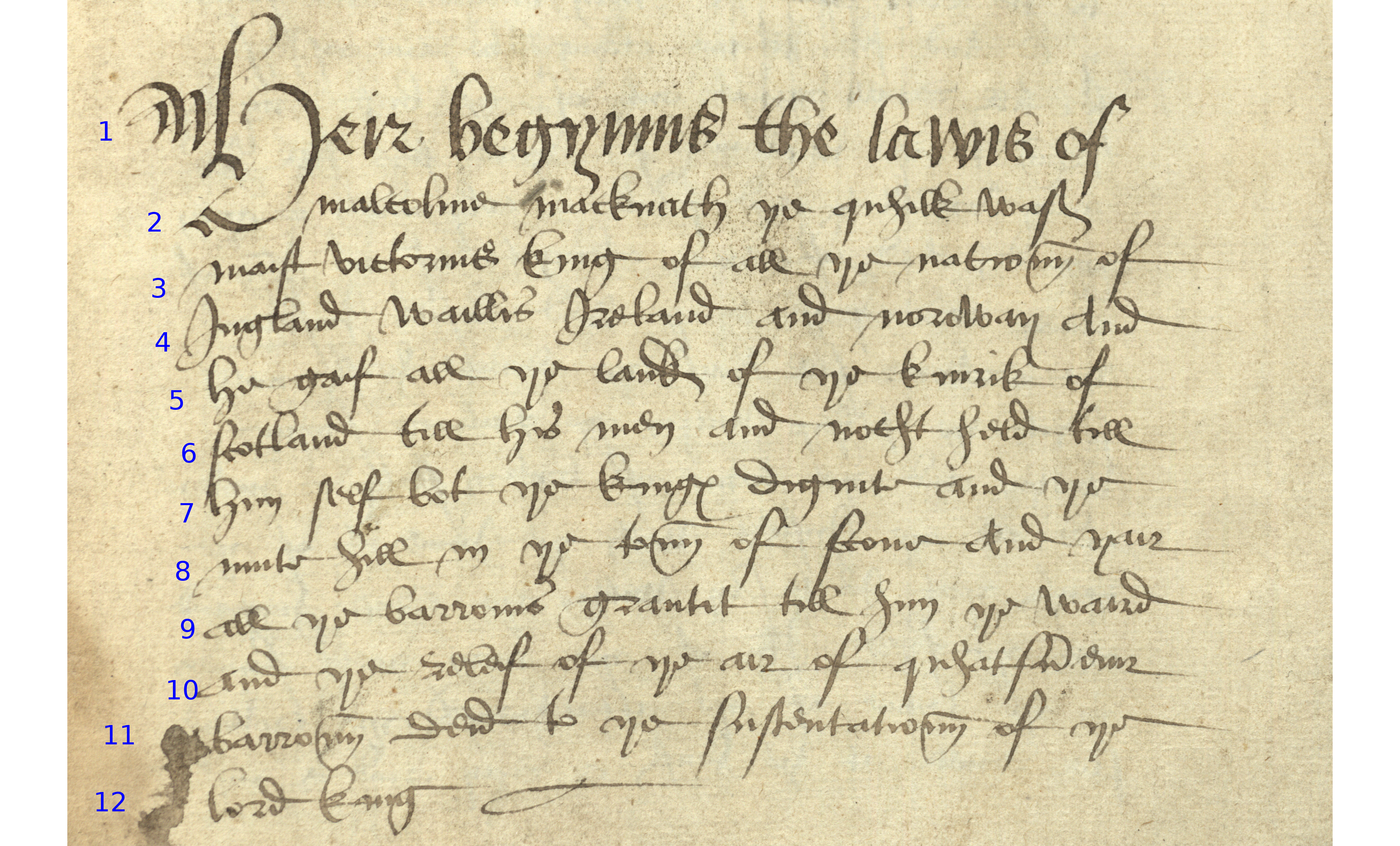 Week 2 16th century secretary hand readme for english transcribe this using the symbol which you can find on the symbols menu in word or simply copy and paste it into your transcription biocorpaavc Gallery