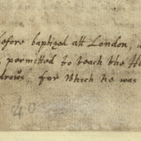 Lamont's Diary entry 1666