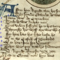 Week 2: Fifteenth-Century Book Hand